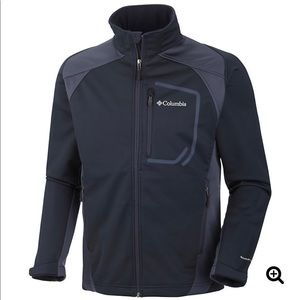 Columbia key three ll Softshell sz L Blue jacket